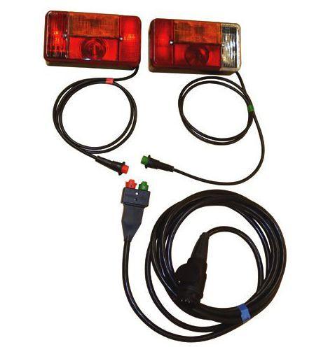 beleuchtungssatz 13p 5m kabel radex