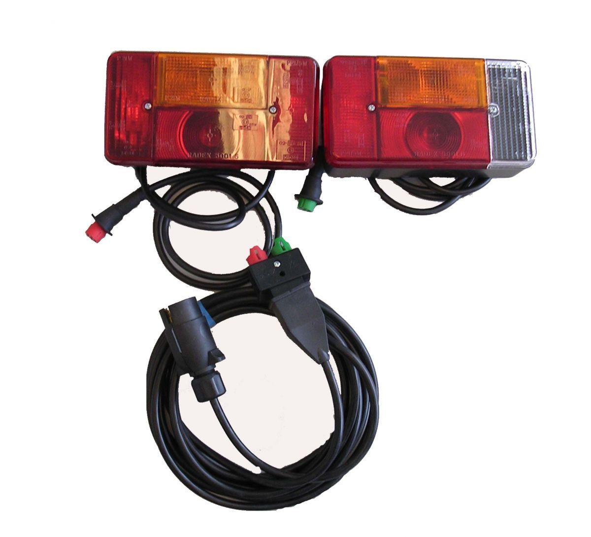 beleuchtungssatz 7p 3m kabel radex