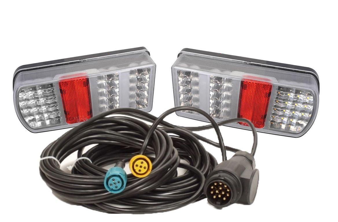 12V Lichtleiste Beleuchtung Kabel Stecker Beleuchtungsbalken 12V 330460