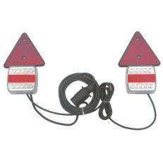 Beleuchtungssatz LED 7,5 Meter Kabellänge 12-24V