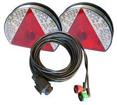 Beleuchtungssatz LED 8 Meter Kabellänge, 13P 12V