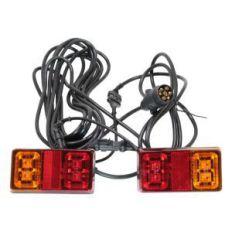 Beleuchtungssatz LED Deluxe 7,5 Meter Kabellänge 12-24V