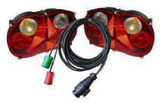 Beleuchtungssatz RADEX waterproof 7M