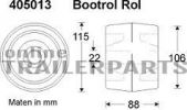 bootsrolle 115x88 mm