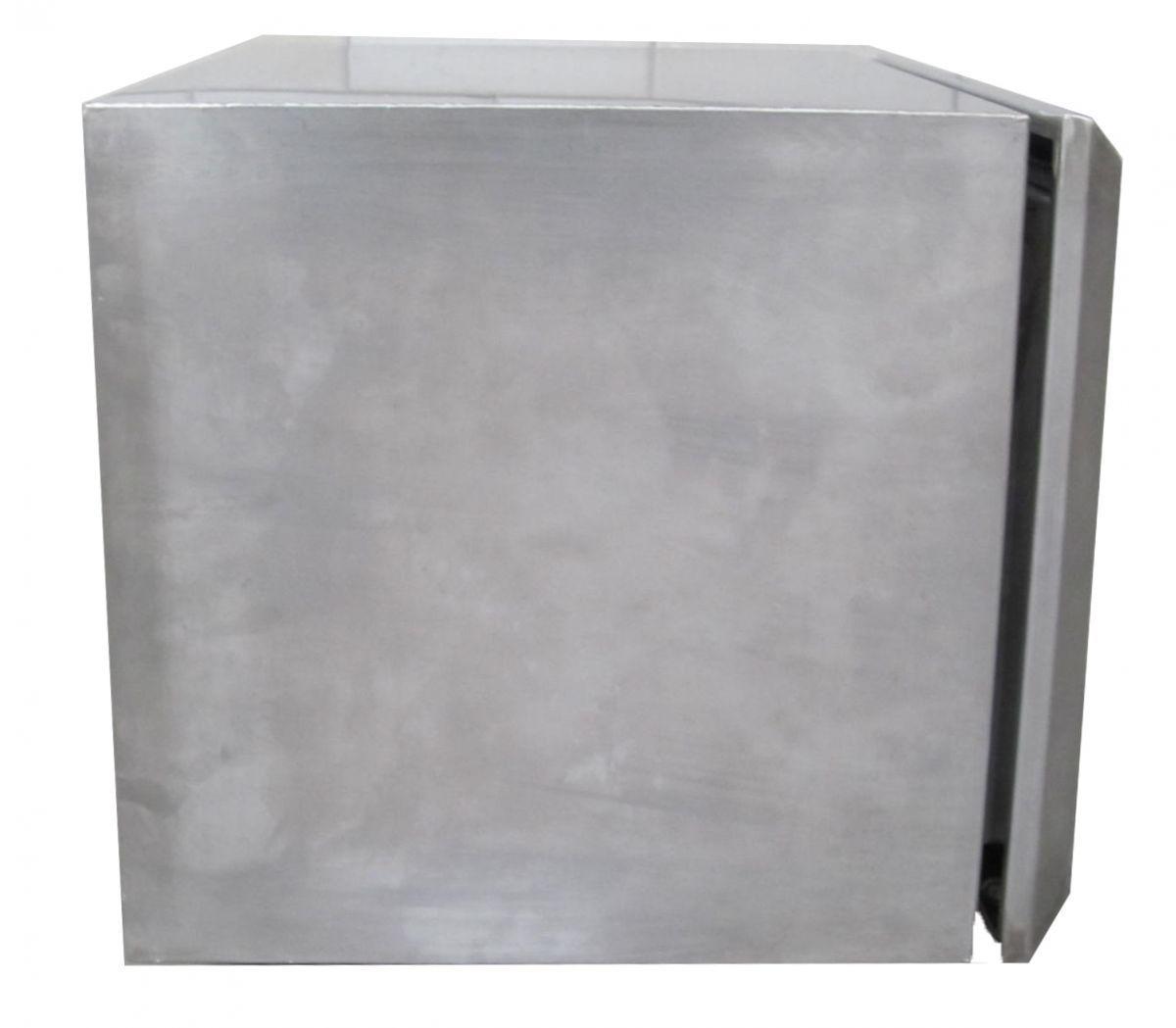 deichselbox edelstahl 500x400x350