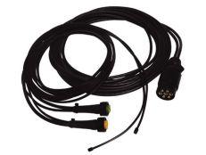 Kabelsatz 7p. DC (7,5M) Aspock