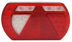 Rückenleuchte 6 Funktionen Links 5 pin 12V-Canbus