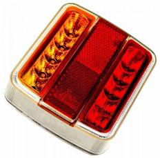 Rückleuchte LED 4 Funktionen 12V