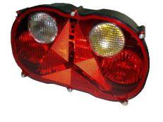 Schlußleuchte 6 Funktionen Rechts LED RADEX 12V