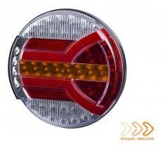 Schlußleuchte mit Dynamic Blink 12-24V