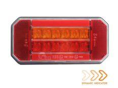 Schlußleuchte mit Dynamic Blink Rechts 12-24V