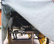 Schutzhaube Kutsche Trainungswagen Groß